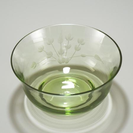 中鉢 花切り子 (萩)