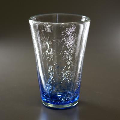 テーパーグラス(ブルー)