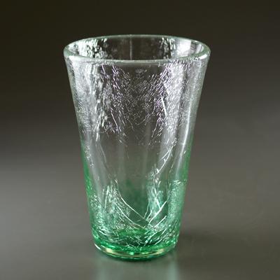テーパーグラス(エメラルドグリーン)