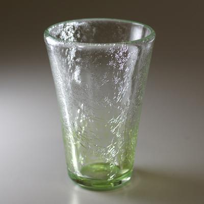 テーパーグラス(オリーブグリーン)