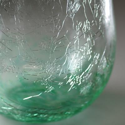 ロックグラス(丸・エメラルドグリーン)