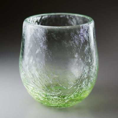 ロックグラス(丸・オリーブグリーン)