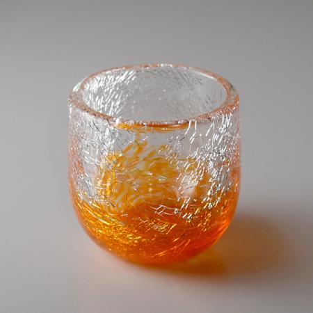 ぐい呑み(オレンジ)