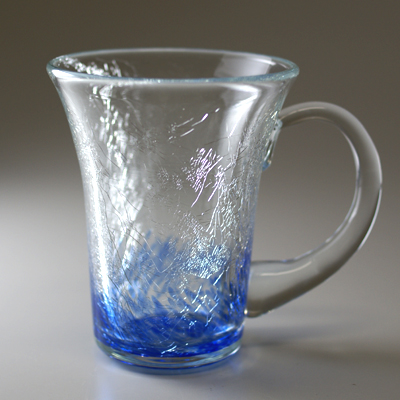 マグカップ(角・ブルー)