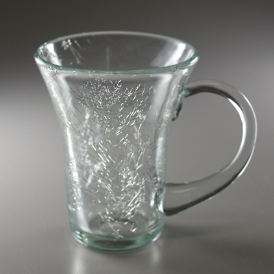マグカップ(角・クリア)