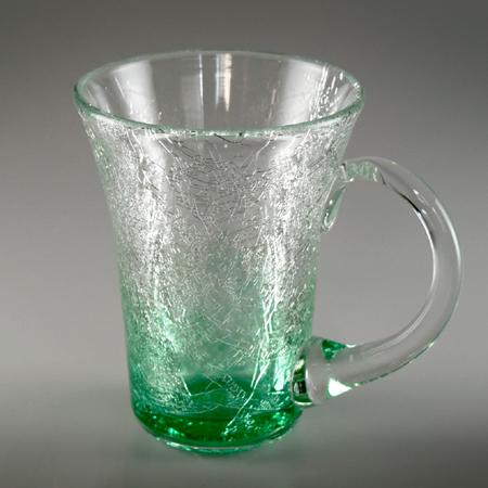マグカップ(角・エメラルドグリーン)