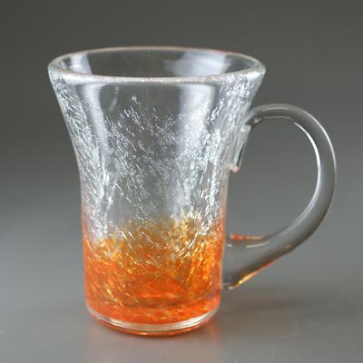 マグカップ(角・オレンジ)