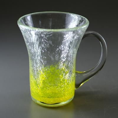 マグカップ(角・イエロー)