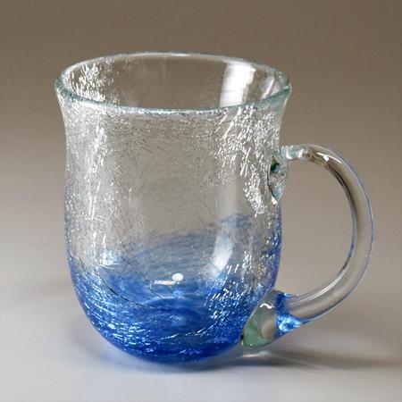 マグカップ(丸・ブルー)