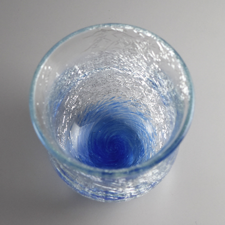内貫入冷茶器(ブルー)