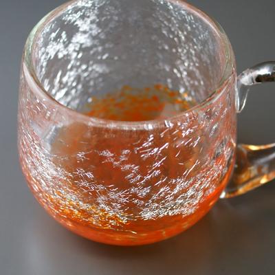 コーヒーカップ(オレンジ)