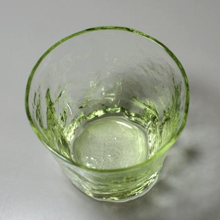 吹込み冷酒グラス